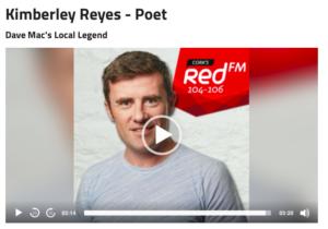 Cork, ireland redfm radio interview